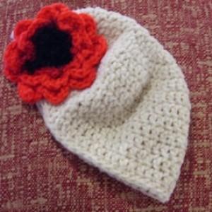 Girls Rose Flowered Hat