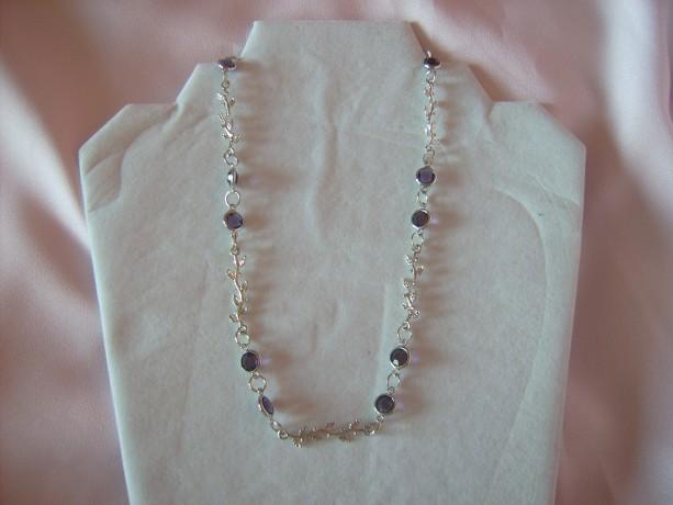 Silver Vine Necklace