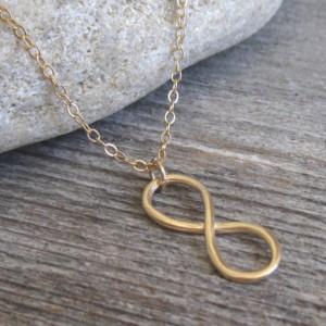 Men Necklace - Men Gold Necklace - Men Infinity Necklace - Men Jewelry - Men Gift - Boyfriend Gift - Husband Gift - Present For Men - Male
