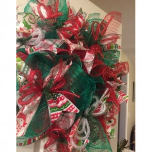 decorative Christmas wreath!