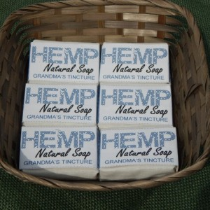 Grandma's Tincture 6pck FREE SHIPPING! Hemp Natural Soap