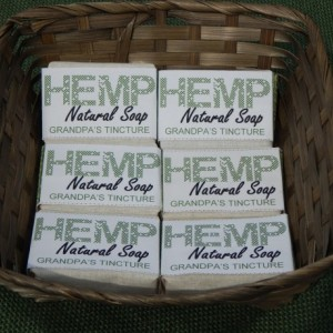 Grandpa's Tincture 6pck FREE SHIPPING! Hemp Natural Soap