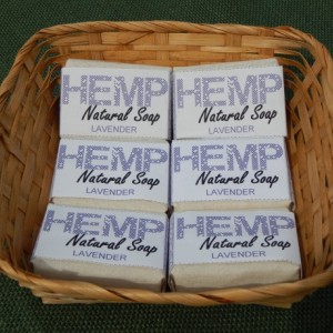 Lavender 6pck FREE SHIPPING! Hemp Natural Bar Soap
