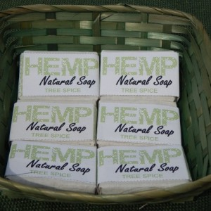 Tree Spice 6pck FREE SHIPPING! Hemp Natural Soap