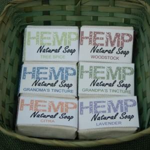 Variety 6pck FREE SHIPPING! Hemp Natural Soap