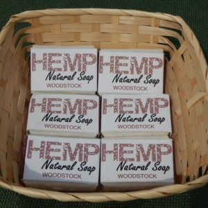 Woodstock 6pck FREE SHIPPING! Hemp Natural Soap