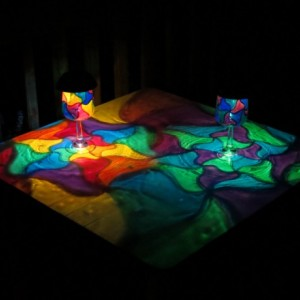 Hand Painted Solar Mosaic Luminaries