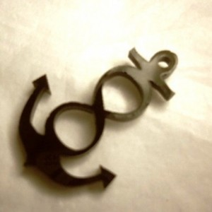 Infinity charms, laser cut charms, infinity anchor,