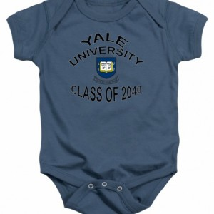Yale University Class of 2040 Baby Onesie