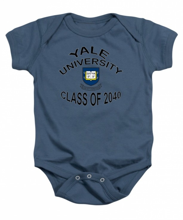 Yale University Class of 2040 Baby One Piece