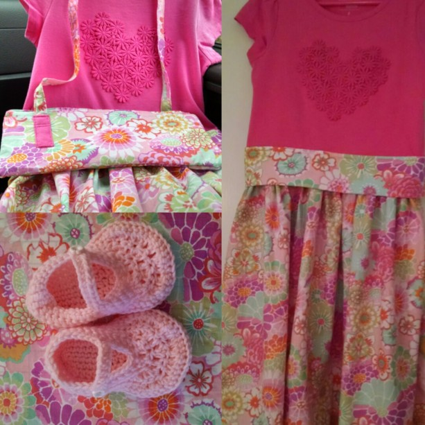 The Princess Collection Custom Order Girls Dress, Girls Slippers, Girls Handbag, Custom made dresses, Maryjane crochet slippers