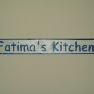 Custom kitchen wood sign hand painted personalized wood kitchen distessed wood sign