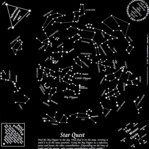 Glow in the Dark Star Quest Fundana