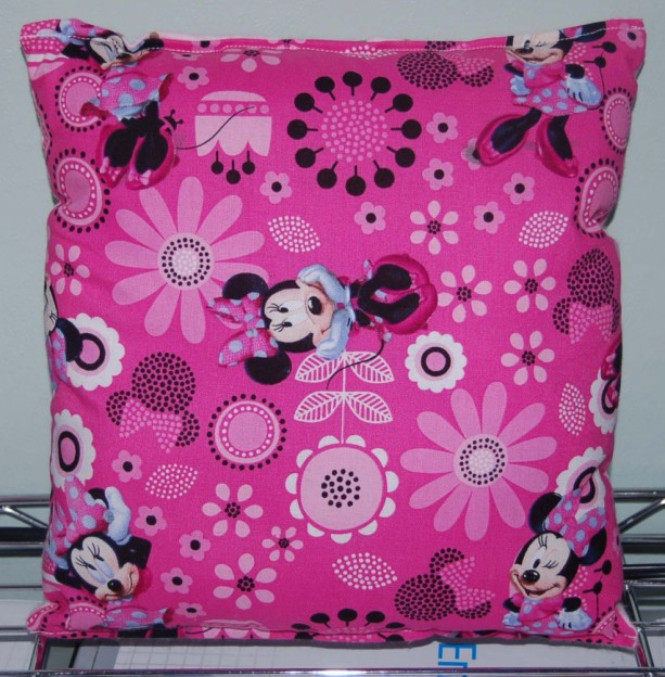 Minnie Mouse Pillow Spring Minnie Pillow New HANDMADE In USA
