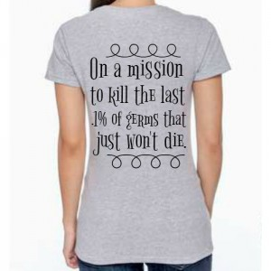 Preemie Mom -on a mission shirt