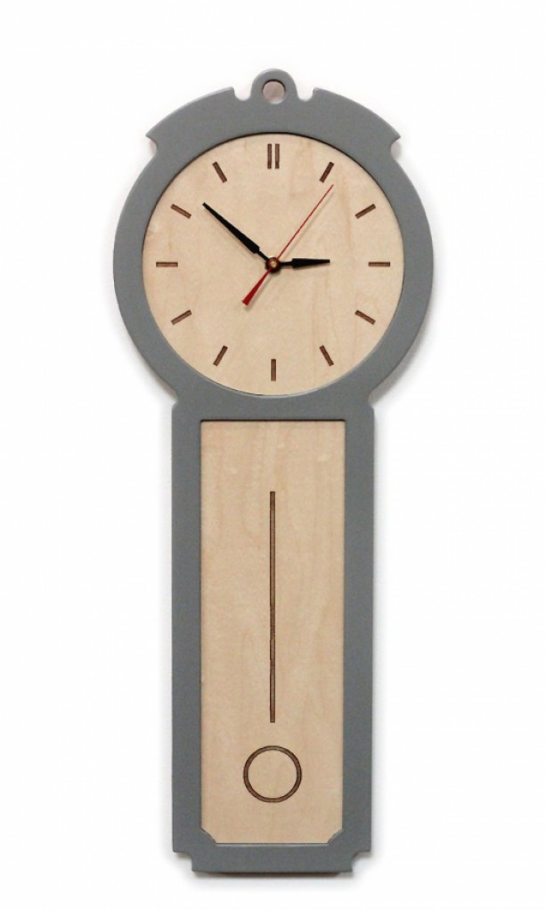 Colonial - Modern Wall Clock