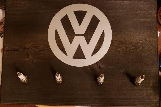 Volkswagen Spark Plug Sign