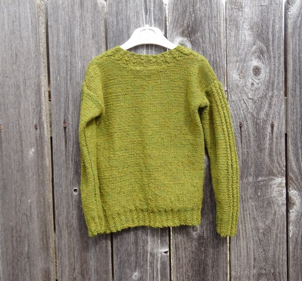 Alpaca Jumper Knitting Pattern : Hand Knitted Sweater made with Alpaca Wool, Unisex Size 4T-5T aftcra