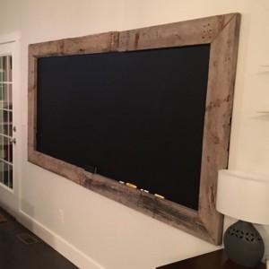 Rustic Chalkboard 48X30