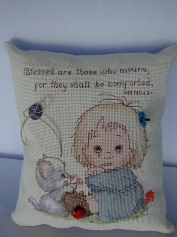 Picture, child, nursery, counted cross stitch, collector, Precious Moments