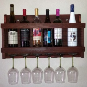 Wine Rack, Wine Storage, Handcrafted Wine Rack