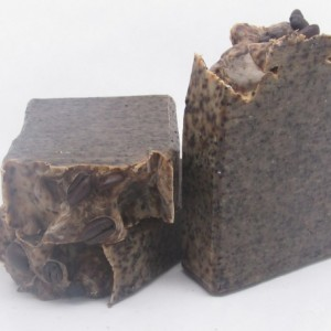 Coffee Scrub Handmade Goat Milk Soap