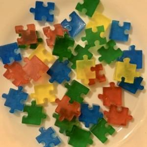 Puzzle Piece Soaps