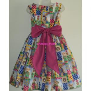 NEW Handmade Dora The Explore & Boots Dress Custom Sz 12M-14Yrs