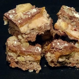 Chocolate Caramel Double Crunch Toffee (1lb)