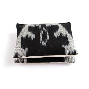 Black and White Ikat Cotton & Linen Organic Lavender Sachets