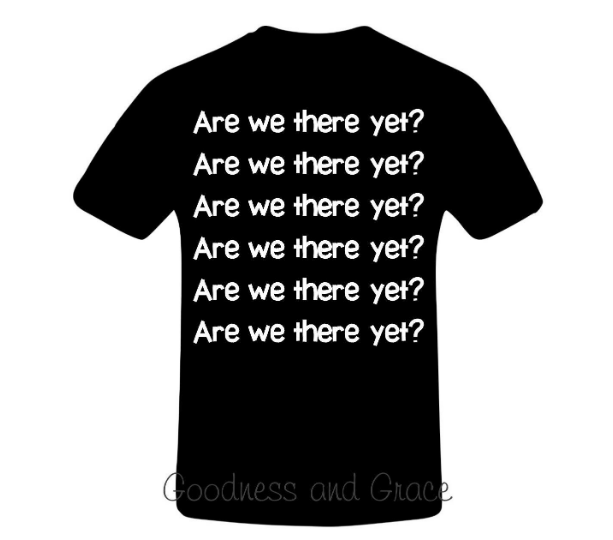 Disney Bound Tee Are We There Yet?
