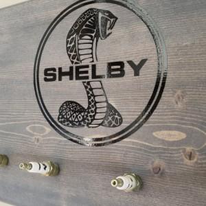 Shelby Spark Plug Sign