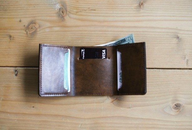 Mens Leather Wallet, Personalized Wallet, Christmas Gift, Custom Gift, Mens Anniversary Gift (Light Brown Color)