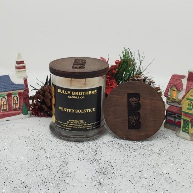 Winter Solstice - Candle 9 oz jar
