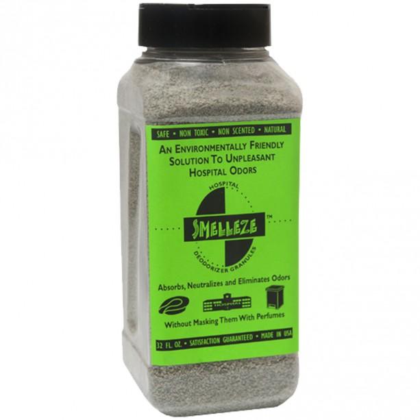 SMELLEZE Natural Hospital Odor Remover Deodorizer: 2 lb. Granules Eliminates Medical Stench