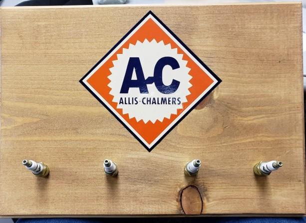 Allis Chalmers Spark Plug Sign
