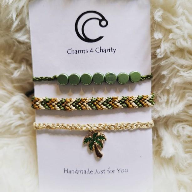 Palm tree friendship bracelets