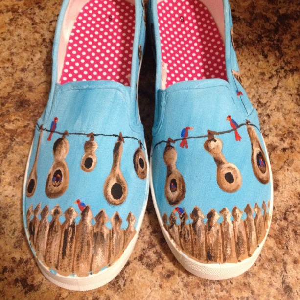 Hanging Gourds Shoes