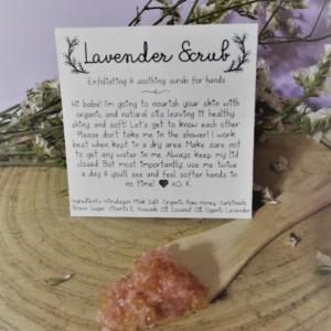 Exfoliating Hand Scrub | Organic Sugar Scrub | Organic Body Scrub | Body Scrub | Spa Gift | Sugar Scrub | Scented Scrub | Hand Scrub