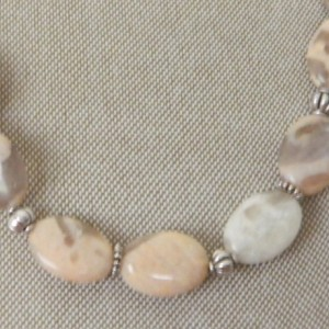 Light Agate Necklace