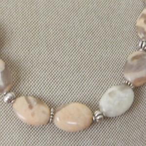 Light Agate Necklace