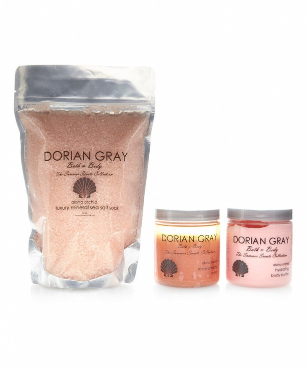 Buy One Gift One Dorian Gray Skincare: Three Piece Fragrant Bath and Body Gift Set