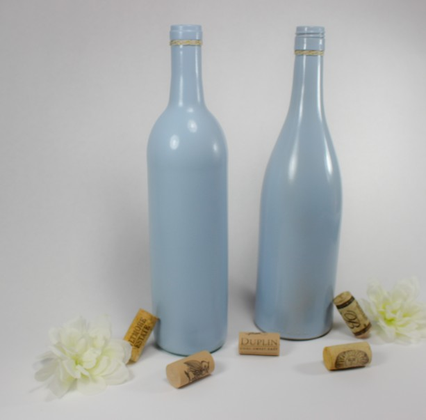 Wine Bottle Vase Collection Set Of 6 Aftcra
