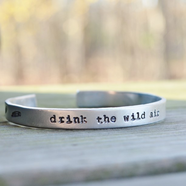 Drink the Wild Air Cuff Bracelet