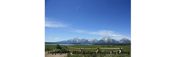 Mountain view in the tetons photo print