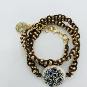 Calming Macrame Wrap Bracelet