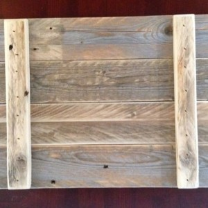 Re-pourposed plank panels