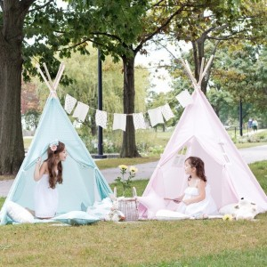 Corn Yellow Kids Teepee Set