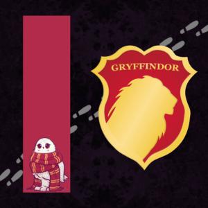 Hogwarts House Pets Bookmarks
