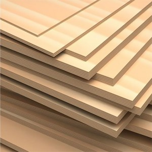 24 sheets 1/4 inch thickness 4 inch  W x 6 inch H Baltic Birch Plywood